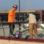 Menlo-Atherton High School welding