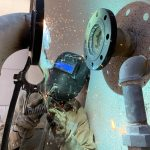 Welding for Seismic Valve Installation