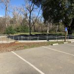 ADA Handrail at Hellyer County Park