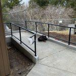 Handrail fabrication at Vasona County Park