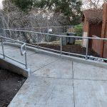 Handrail fabrication at Vasona Park